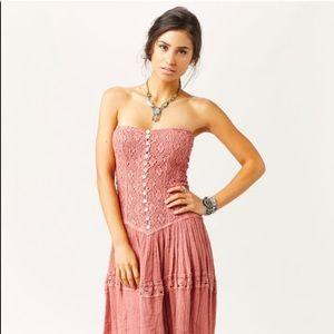 JENS PIRATE BOOTY Cherokee Maxi Dress, Rose